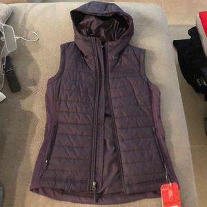 North face Purple Vest- Women's